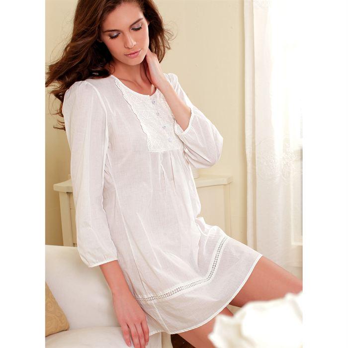 Camisa de manga larga mujer noche de para 8OnPk0w