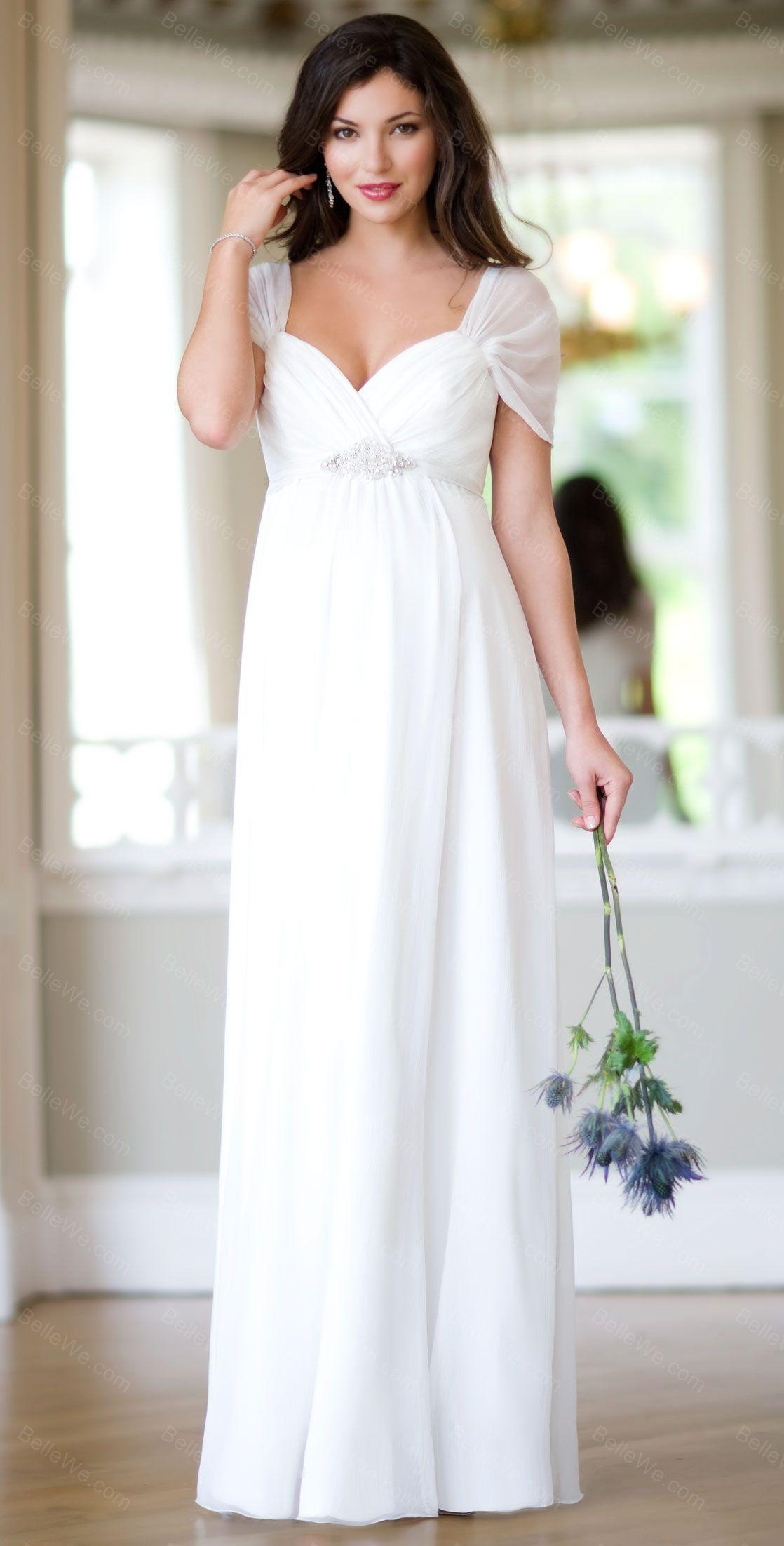 Très chemise de nuit satin longue blanc fille AO86