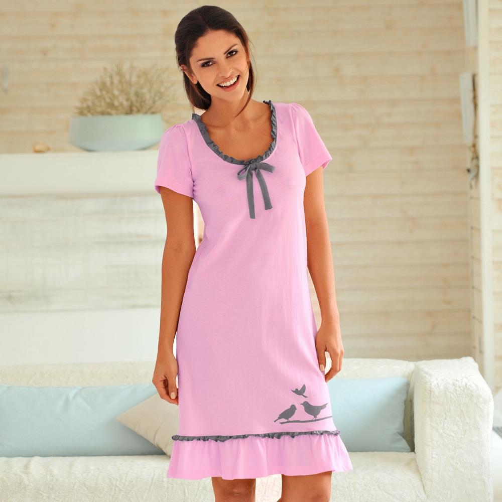 détaillant en ligne c2a99 50805 robe de nuit coton grande taille femme