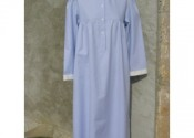 robe de nuit coton longue fille
