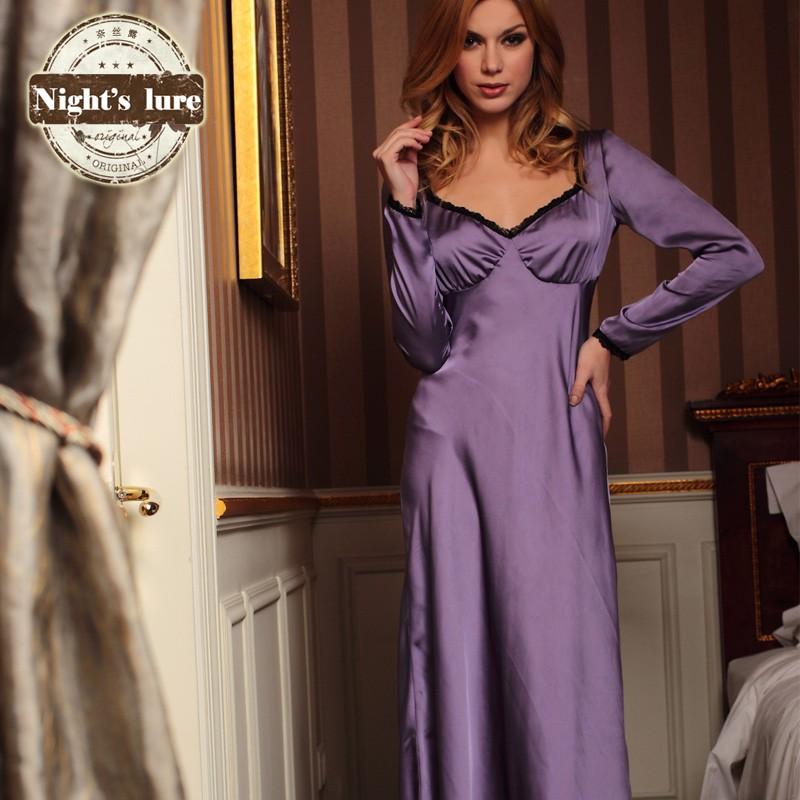 d7d8f8b733164 Nuisette manche longue satin - Legging, sous vêtement et lingerie