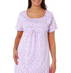 Tendance 2014 chemise de nuit coton grande taille blanc