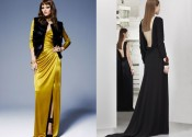 Tendance 2014 chemise de nuit coton longue noir femme