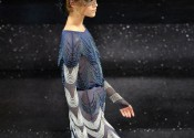 Tendance 2014 chemise de nuit soie longue femme
