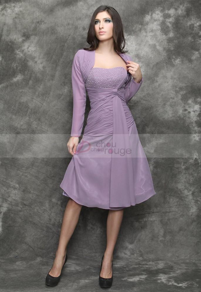 robe de soiree pour femme de 60 ans