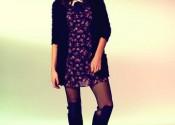 Tendance 2014 robe de nuit coton longue femme