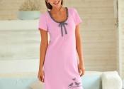 chemise de nuit coton grande taille femme