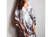 chemise nuit femme satin polyester