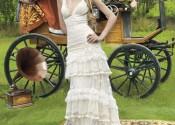 robe de mariée courte nuit blanche