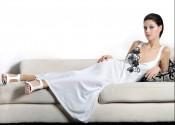 robe de nuit coton longue femme