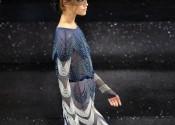 Tendance 2014 robe de nuit soie longue noir fille